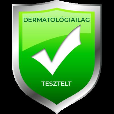 dermatológiailag tesztelt ikon