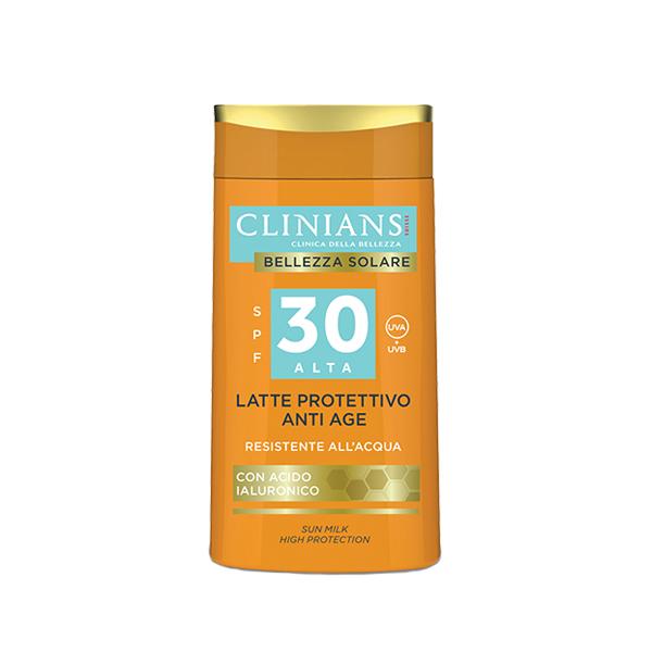 Clinians Bellezza Solare Öregedésgátló Napvédő Tej 30 Faktor