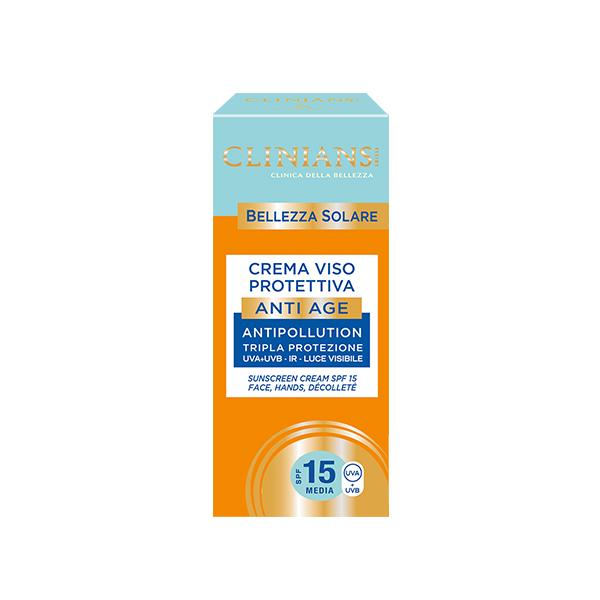 Clinians Bellezza Napvédő Arckrém 15 Faktor 75ml