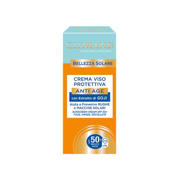 Clinians Bellezza Napvédő Arckrém 50 Faktor 75ml